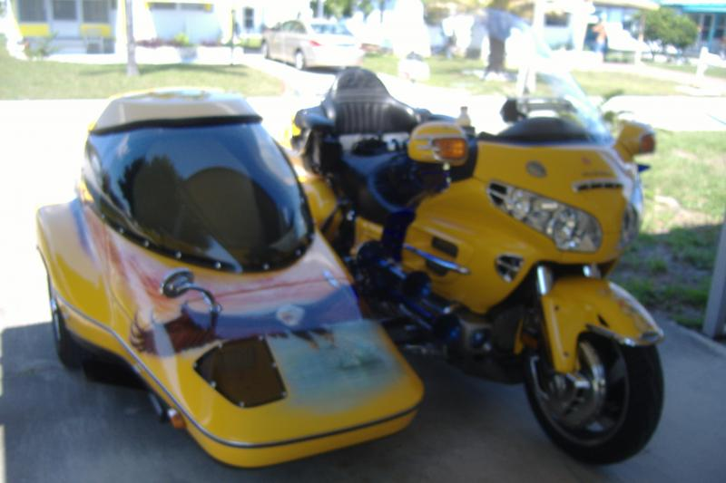Honda Goldwing & Hannigan sidecar
