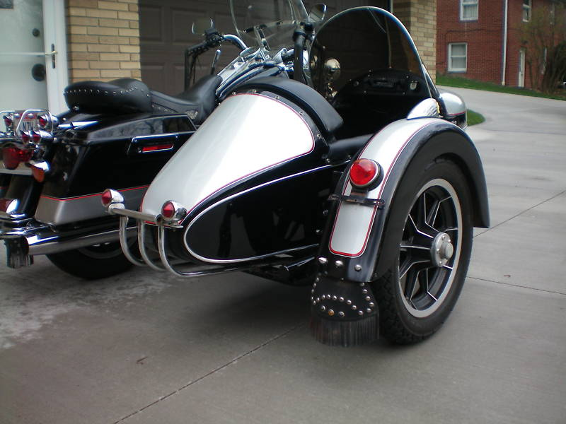 Champion Sidecar chrome light bar