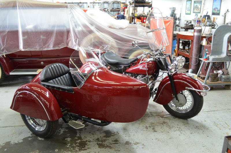 Indian motorcycle & Champion Legend Sidecar
