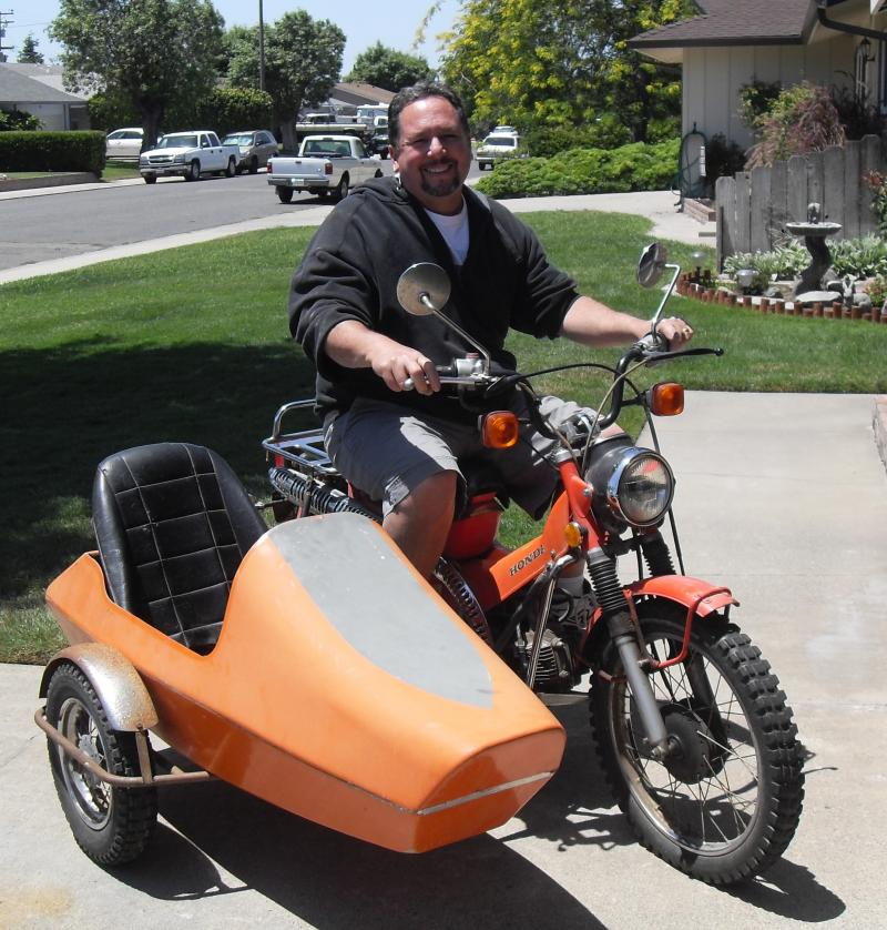 California Sidecar Tag-A-Long Sidecar