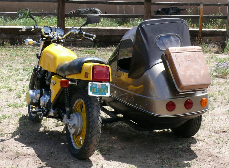 Mel C. 1979 KZ100ST & California Sidecar Friendship II