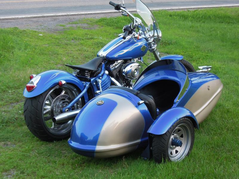 International Sidecar rear