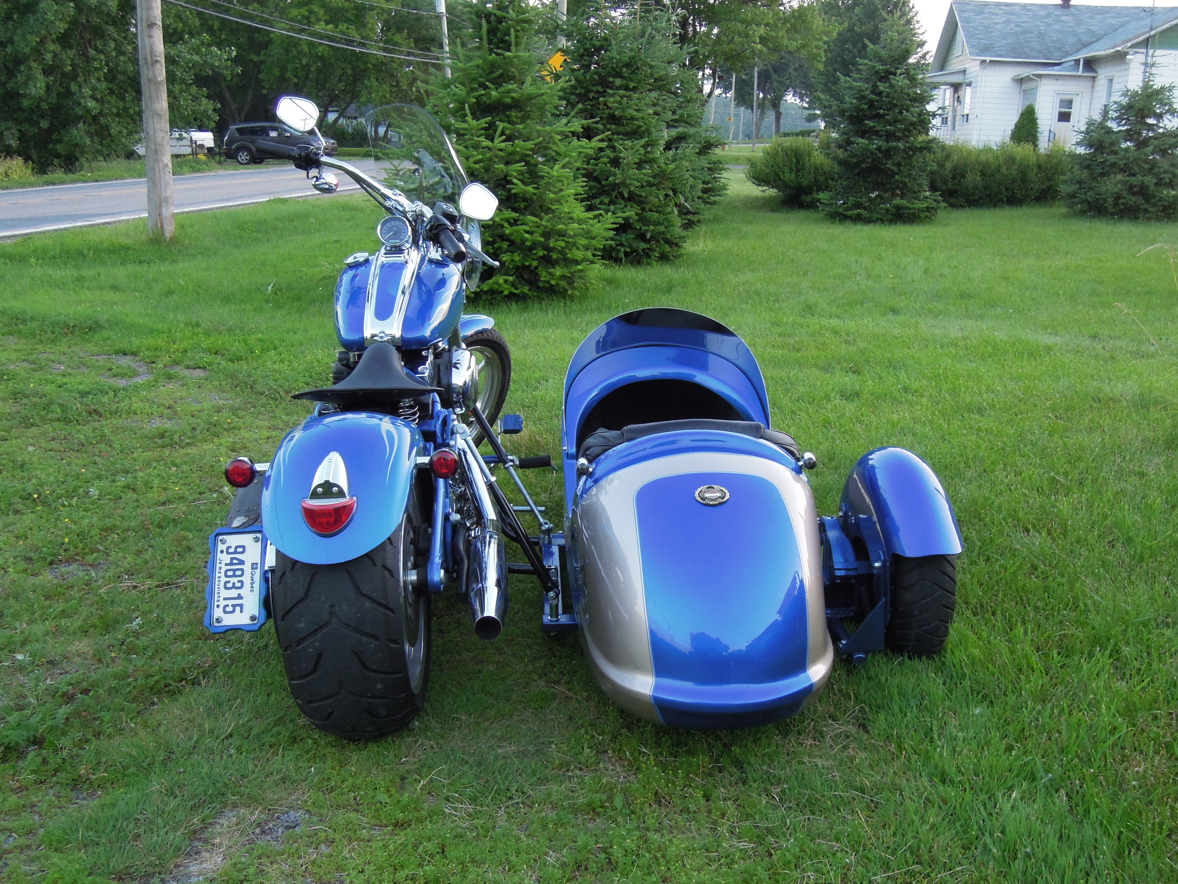 International Sidecar back end