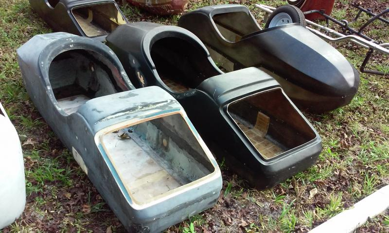 Bullet Nose Watsonian Style Sidecar Bodies