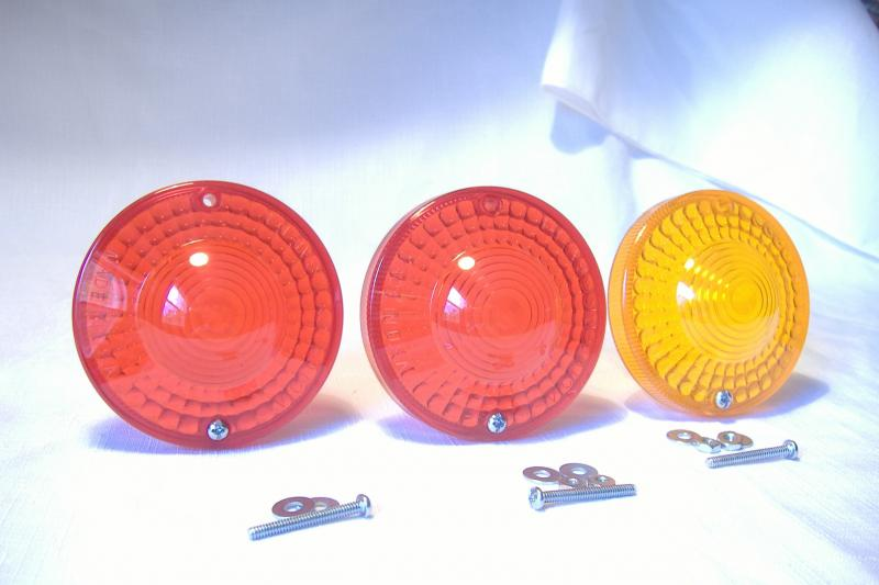 New replacement California sidecar tail light lenses