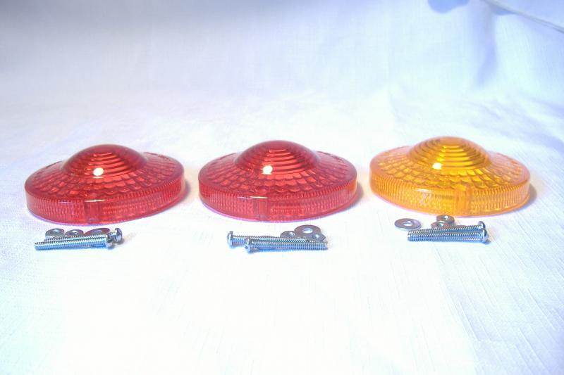 California Sidecar Friendship Tail Light Lens Kit New Replacement