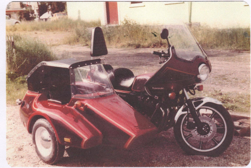 First Kenna Sidecar with a factory convertible top