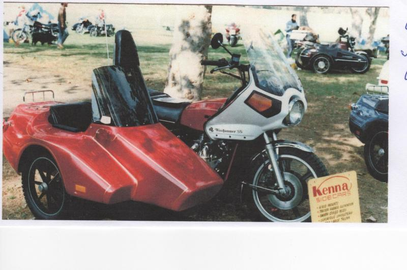 First Kenna Sidecars being sold at a sidecar rally