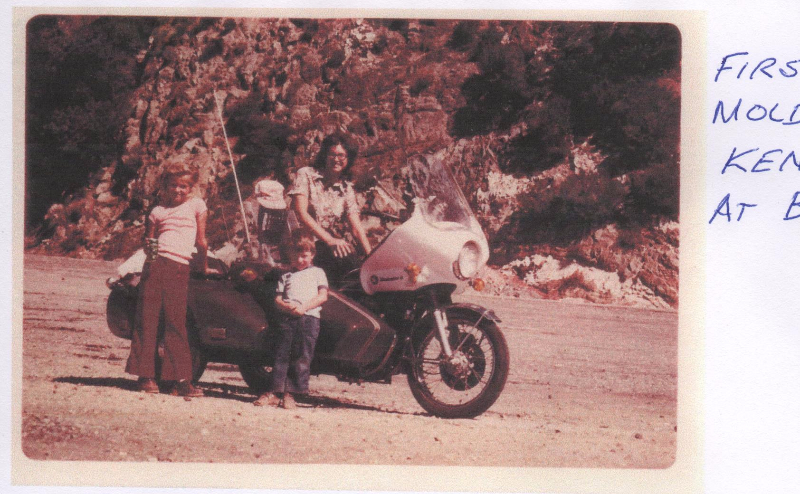 The very first Kenna Sidecar made with little girl it was named after