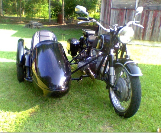 1963 BMW R60 & Spirit of America Eagle Sidecar