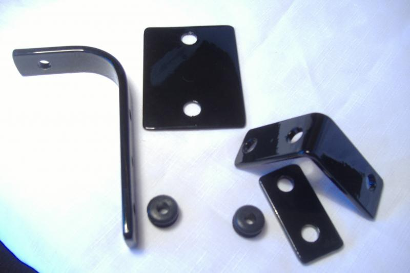 Sidecar headlight mounting brackets