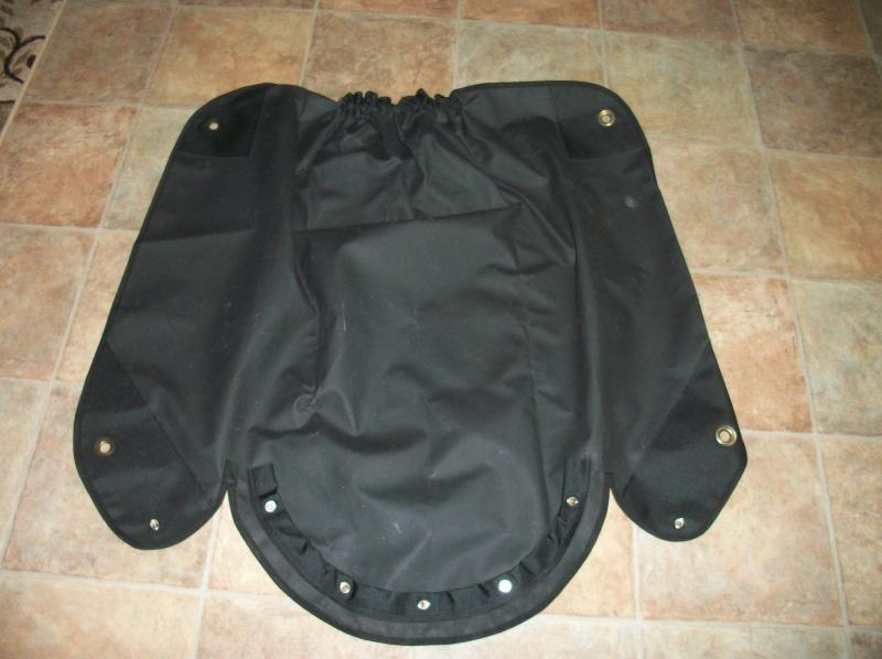New Style 2003-up Velorex Sidecar 562 and 563 Tonneau Cover
