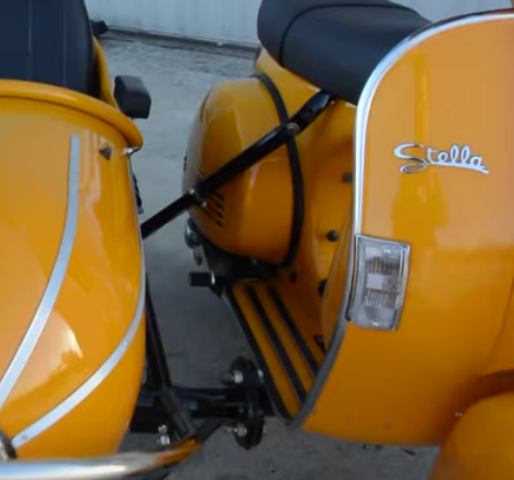 Stella scooter sidecar mounts manual