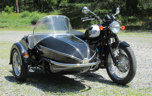 Touring Grand Prix Sidecar Watsonian-Squire Motorcycle