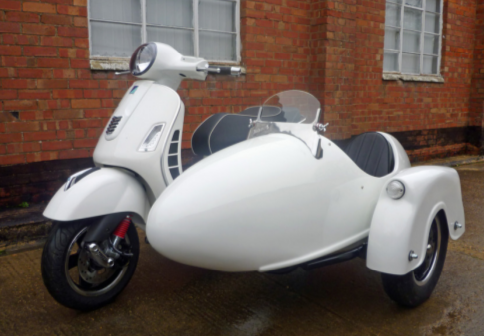 Zanzara Sidecar made for Vespa 250 & 300 Scooter Watsonian-Squire