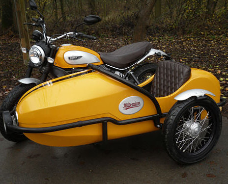 Bullet Nose Sidecar New for 2017 With Headlight Watsonian-Squire Motorcycle
