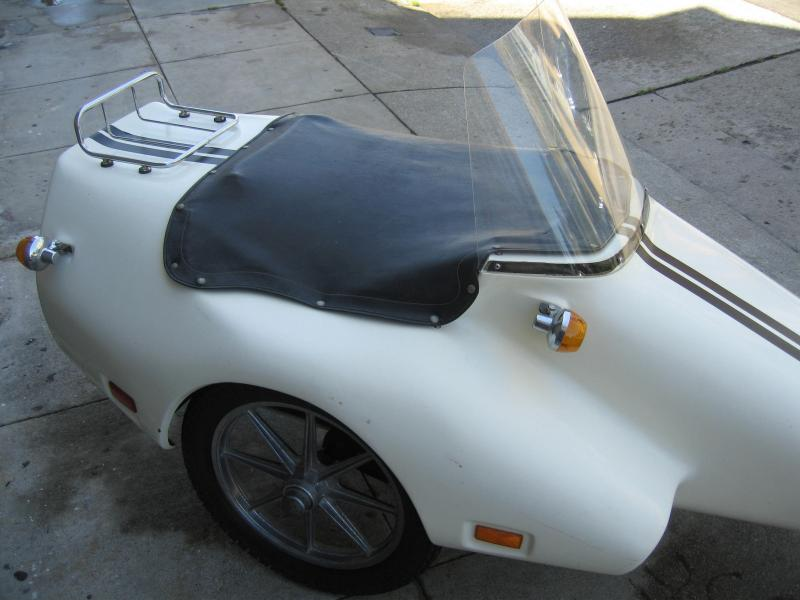 California Sidecar made Kenna sidecar