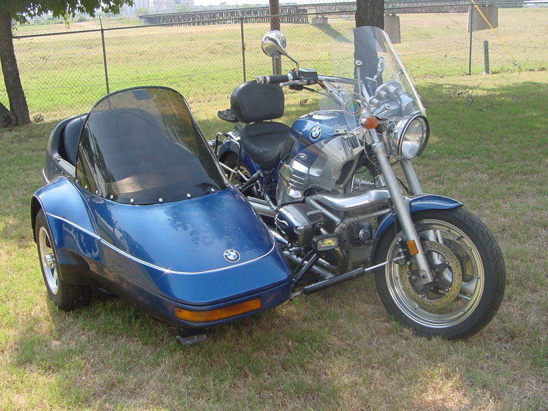 Champion Escort Sidecar blue