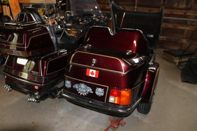 California Sidecar Friendship III Early 1988 Version