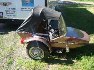 Hitchhiker sidecar convertible top