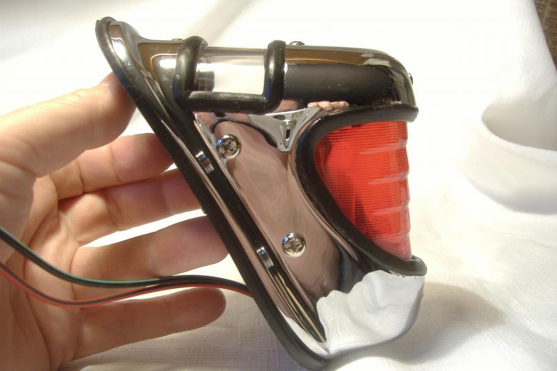 Harley Davidson style Beehive Sidecar taillight 1939-1946