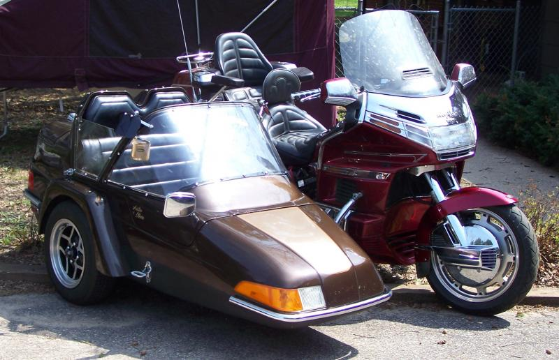 Honda GL & CSC FS III California Sidecar Friendship 3