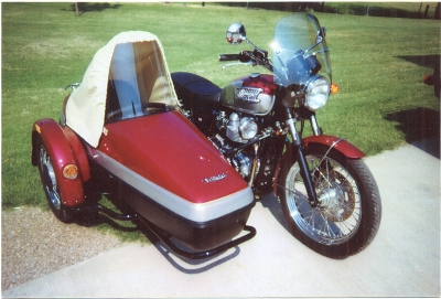 Velorex 562 sidecar tonneau cover Tan Pre 2003 Old Style Over the windshield